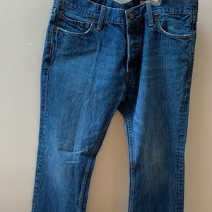 Hollister Boomer Low Rose Slim Bootcut Jeans 34x32